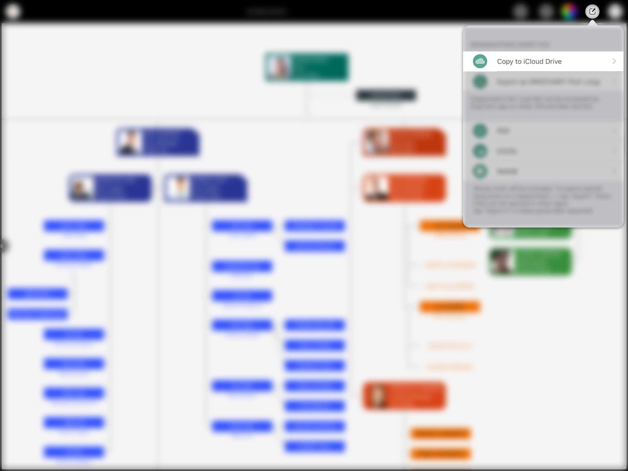 Quick Start - Sync via iCloud Drive | OrgChart